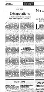 Le Monde 23jan07